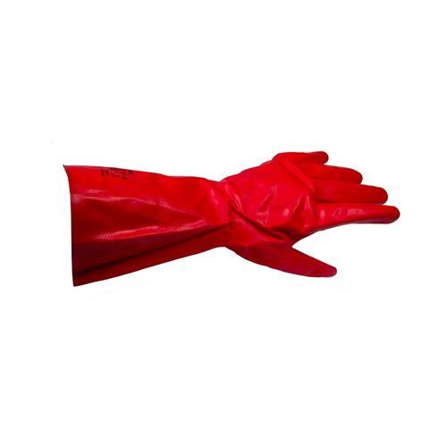 FINIXA GLD Solvex Κόκκινα γάντια νιτριλίου