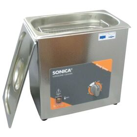 SONICA  Πλυντήριο υπερήχων με «sweep system» και θερμοστάτη θέρμανσης 2200MH S3 σε 12 Άτοκες Δόσεις