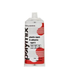 POLYMIX κόλλα πλαστικών RIGID 50ml + Δώρο 2 μύτες