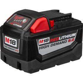 MILWAUKEE Μπαταρία Υψηλής Απόδοσης 18V Li-ion 9.0 Ah    M18-B9