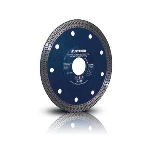 STAYER Δίσκος  Κοπής Ø125 SUPER TURBO EXTRAFINO (πορσελάνη, γρανιτοπλακάκια, πλακίδια, κεραμικά, πέτρα Πηλίου, γρανίτη 14394 + Δώρο Γάντια Εργασίας